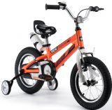 "ROYAL BABY FREE STYLE SPACE ORANGE KIDS BIKE 12"",14"",16"",18"" + STABILISERS+WATER BOTTLE AND HOLDER"